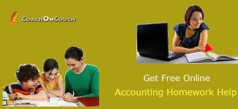 Excel in Accounting With Accounting Homework Help | CoachOnCouch | Scoop.it