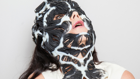 Björk unveils 3D-printed Rottlace mask based on her face | e.cloud | Scoop.it
