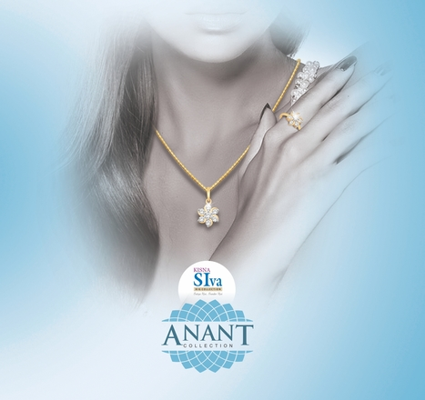 Lovely, graceful and sophisticated check out our latest Anant Collection! | Latest Indian Diamond Jewellery Designs | Scoop.it