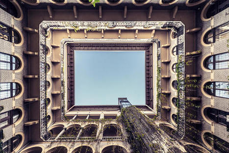 The Glorious Courtyards Of Budapest, Photographed From Below   Urban Decay Photography   Scoop.it
