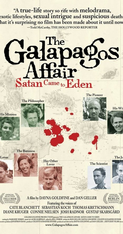 The Galapagos Affair: Satan Came to Eden (2013)   Art, graphic design, video production, animation and illustration   Scoop.it