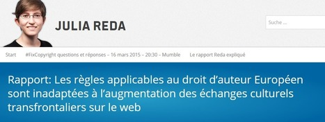 Nous soutenons le rapport REDA ! | Coopération, libre et innovation sociale ouverte | Scoop.it