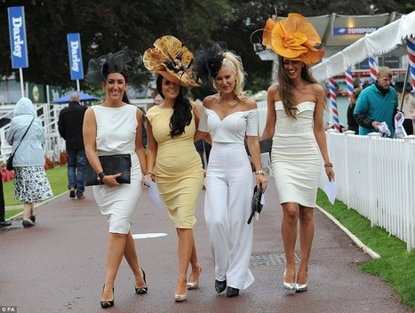 Big hats and goose bumps take centre stage at York Races | Horse Racing News | Scoop.it