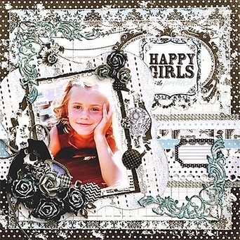 Happy Girls - Scrapbooking 24/7 | Digital Stamping and Papercrafts | Scoop.it