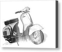 Black And White Vespa by Etienne Carignan | Vespa Stories | Scoop.it