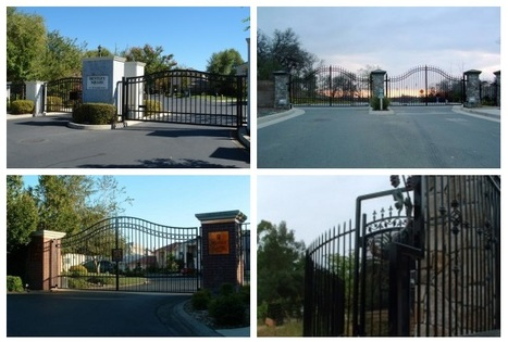 Sacramento Automatic Gates and Wrought Iron Fence Supplies   Find unique Design on Wrought Iron Gates in Roseville, Sacramento   Scoop.it