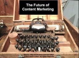 The Future of Content Marketing - Heidi Cohen | Writer, Book Reviewer, Researcher, Sunday School Teacher | Scoop.it