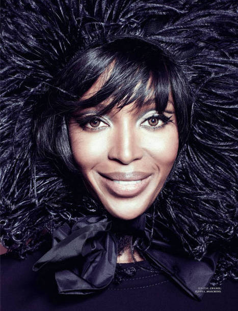 NAOMI CAMPBELL in Harper's Bazaar magazine (Singapore edition) | CHRONYX.be : we like it sexy too ! | Scoop.it
