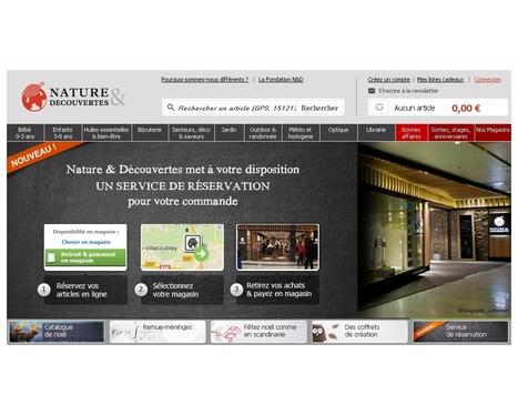 Nature & Découvertes opte pour l'e-commerce Web to Store | Actualité de l'E-COMMERCE et du M-COMMERCE | Scoop.it