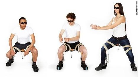 Une chaise exosquelette pour éviter l'exténuement  | Le blog des news santé | Nutrition et Bien-être | Scoop.it