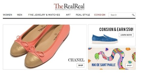 Online Consignment Store For Luxury And Designer Goods The RealReal Raises $20M - Click India Life | Retail Technology & Innovations | Scoop.it
