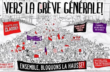 LE 22 MARS, ENSEMBLE, ON MARCHE CONTRE LA HAUSSE (Place du Canada, Montréal) | Marches Paris 2012 | Scoop.it