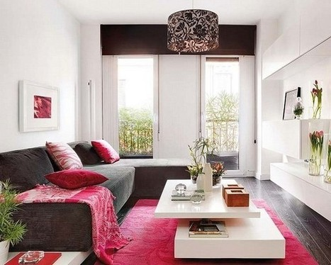 Colorful and Provoking Two-Level Apartment in Madrid   No Place Like Home   Scoop.it