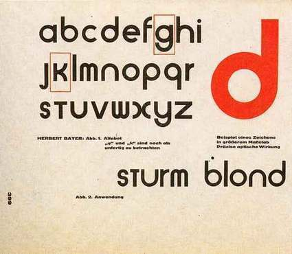 Six Design Lessons from the Bauhaus: Masters of the Persuasive Graphic | visual data | Scoop.it