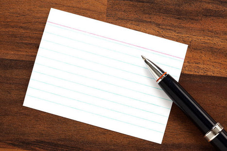 The value of writing things down - World Magazine | Intellectlife | Scoop.it
