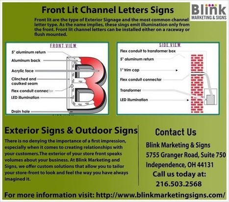 Blink Marketing and Signs | Sign Companies In Ohio | Scoop.it