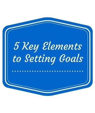 5 Key Elements to Setting Goals   content syndication   Scoop.it