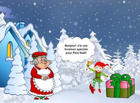 JeuxFle: Sur les traces du Père Noël. Episode 3 | FLE enfants | Scoop.it