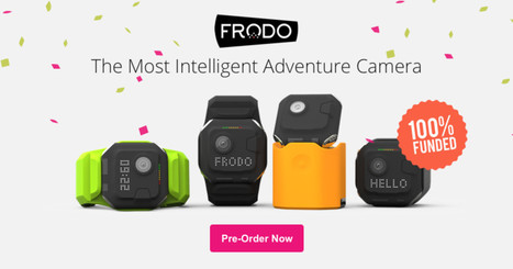 Frodo - The Most Intelligent Adventure Camera | Futuristic Technologies | Scoop.it