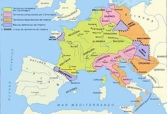 Imperio Carolingio : Historia Universal | mis cosas de soci | Scoop.it
