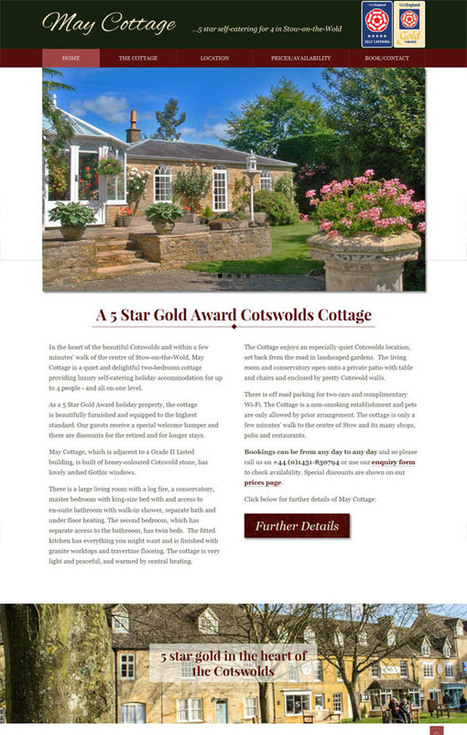 Holiday cottage & villa website templates | Holiday cottages | Scoop.it