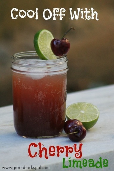 Homemade Cherry Limeade Recipe with Whole Food Ingredients - The Greenbacks Gal | Truly Healthy Recipes | Scoop.it