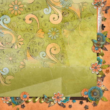 Free stacked papers from the Fabulous Fall kit by Studio4 DesignWorks | Free Digital Scraps | Scoop.it