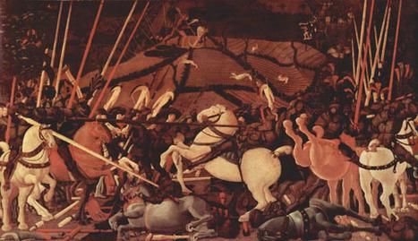 Arte: oro e argento ritrovati in 'Battaglia di S. Romano' di Paolo Uccello | Capire l'arte | Scoop.it