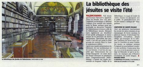 La bibliothèque des jésuites se visite l'été | Revue de presse | Scoop.it