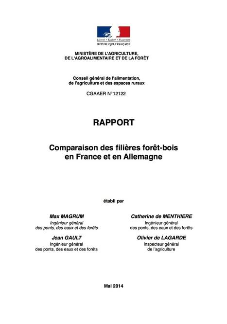 Comparaison des filières forêt-bois en France et en Allemagne - Netbois | Filière bois : Filière d'avenir | Scoop.it