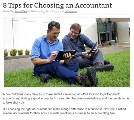 Helpful Tips to Select a Reliable and Knowledgeable Accountant for Your Business   Mash Accounting   Scoop.it