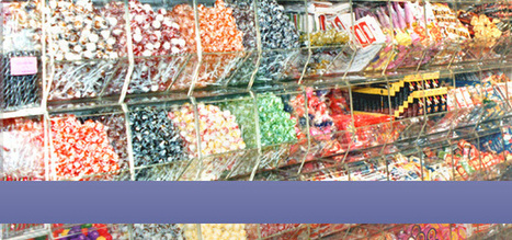 Candy Display & Kiosk System for Candy Retail Business | picksweetique | Scoop.it
