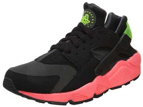 Buy Best Nike Air Huarache Black White Pink UK Free Shipping Exclusive | Nike Roshe Run Sale | Scoop.it