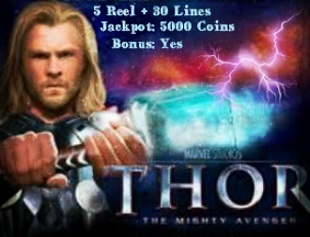 Thor the Mighty Avenger Slot Machine | Online Casino Games With Bonus | Scoop.it