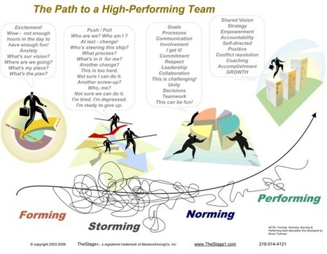 The Effect of Personalities and Team Dynamics on Team Performance | Tolero Solutions: Organizational Improvement | Scoop.it