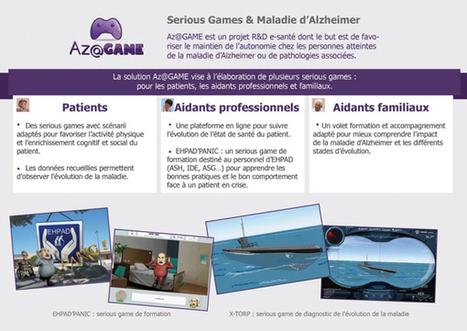 Az@GAME : serious game et maladie d'Alzheimer | Du peps pour les neurones | Scoop.it