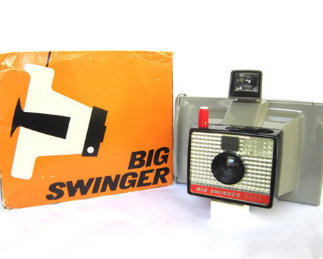 Vintage 1960s Polaroid Camera | Film Photography Rules! | Scoop.it
