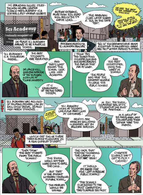 The Disaster Capitalism Curriculum: an Interactive Comic by Dan Archer and Adam Bessie | Realschoolreform | Scoop.it