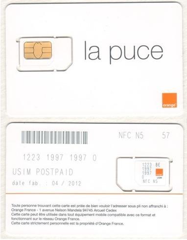 Orange lance une solution NFC basée sur la SIM | ubimedia and ubiquitous internet | Scoop.it