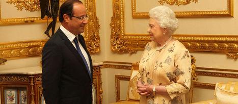 François Hollande troque sa DS5 pour recevoir Elizabeth II | La Normandie dans la Seconde Guerre mondiale | Scoop.it