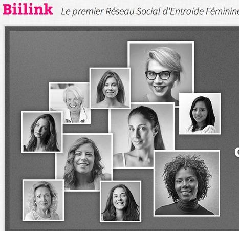Biilink   Le premier Réseau Social d'Entraide Féminine   Journée de la Femme   Scoop.it
