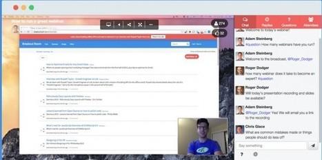 breakoutroom, una práctica forma de hacer webinars transmitiendo nuestra pantalla | Aprendizaje en línea | Scoop.it