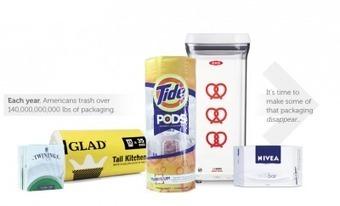 This incredible idea might eliminate packaging waste forever - Greener Ideal   Brand blah blah.   Scoop.it