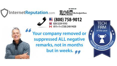 InternetReputation.com: Leader in Online Reputation Management | InternetReputation.com Reviews | Scoop.it