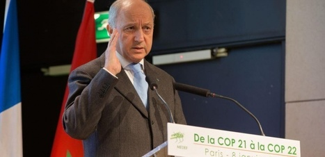 Réchauffement climatique : Laurent Fabius tire la sonnette d'alarme | Planete DDurable | Scoop.it