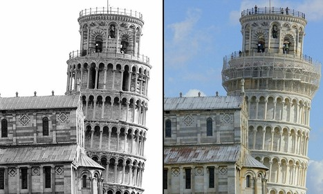 STRAIGHTENING Tower of Pisa: Italian leaning landmark loses 2.5cm of its tilt | Culture and Fun - Art | Scoop.it