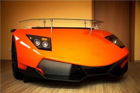 Une Bugatti Veyron ou une Lamborghini Murciélago en guise de bureau | Décoration et aménagement de bureaux | Scoop.it