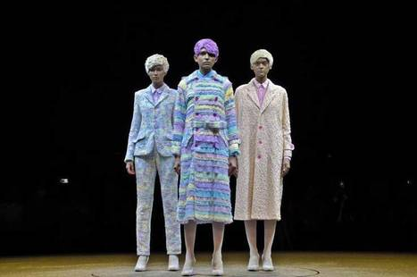 Color-changing fashion, Hedi Slimane's first Saint Laurent collection, 99%IS ... - The Japan Times   fashion brands collection   Scoop.it