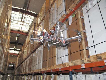 Logistique : les 'bat-drones' vont se nicher dans les entrepôts | Logistique et Transport GLT | Scoop.it