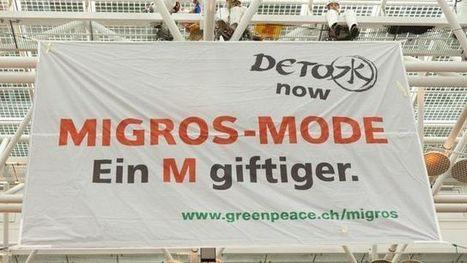 TAGESANZEIGER Der Migros-Stuhl blieb an der Greenpeace-PK leer (26.03.13) | Fallbeispiel «Migros – ein M giftiger» | Scoop.it